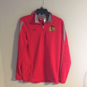 Reebok Chicago Blackhawks 1/4 zip